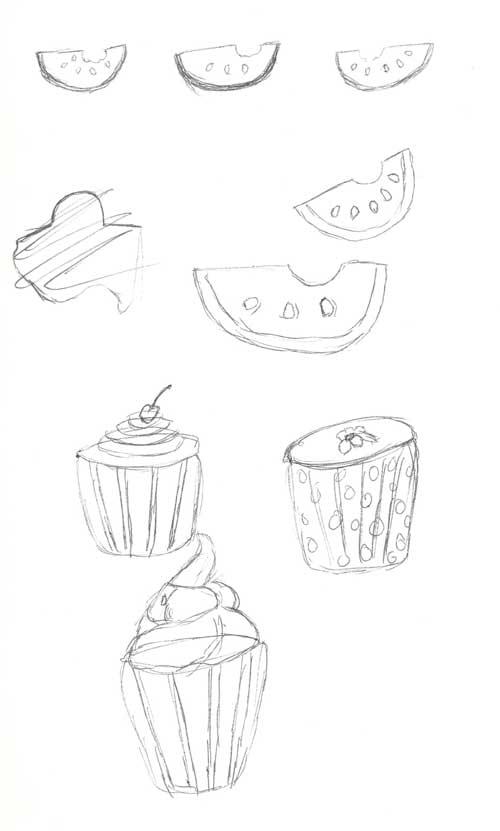 cupcake-sketches
