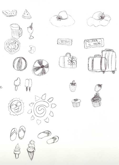 Summer-Sketches
