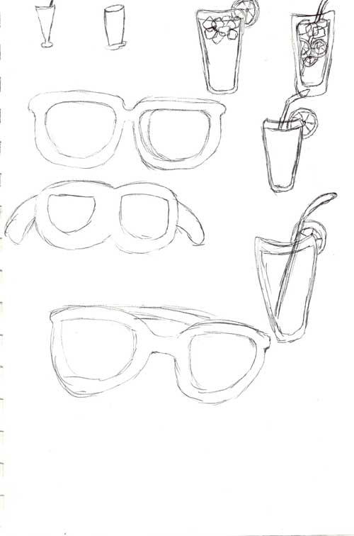 sunglass-and-lemonade-sketches