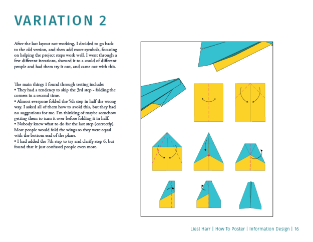 Paper Airplanes Process Book3